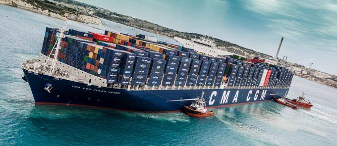international shipping companies